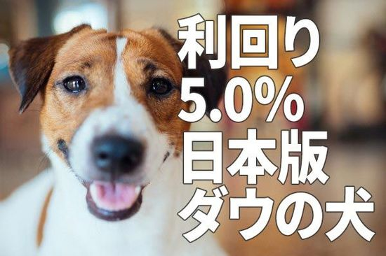 利回り5.0%!「高配当株ファンド」を自分で作る「ダウの犬」戦略