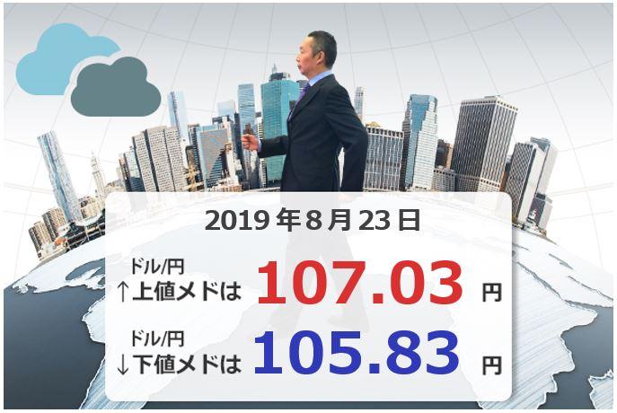 ジャクソンホールだよ!全員集合!来週のドル/円、ユーロ/円、豪ドル/円の上下のメドは?