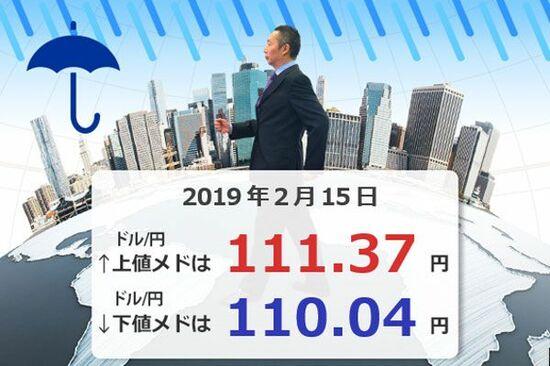「円安」止まった?ドル/円110円台へ下落
