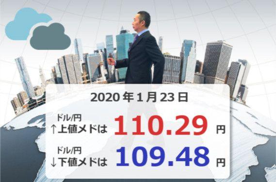 来週の日本は、「新型肺炎」と「円高」に注意