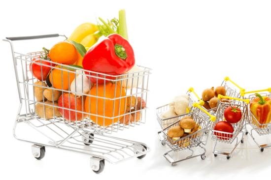 活用:野菜など、重たい食材に便利