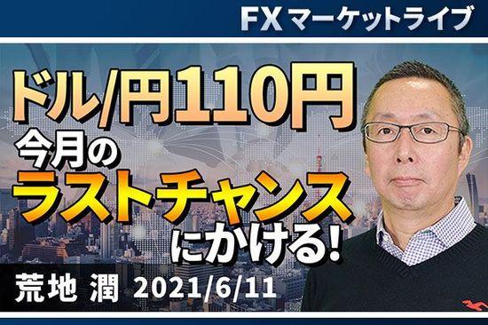 [動画で解説]「ドル/円110円、今月のラストチャンスにかける!」