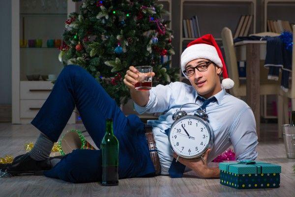 クリスマス休暇で方向感なし