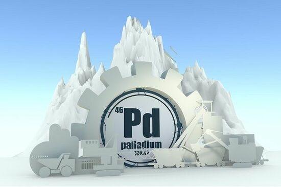 10年間で600%上昇したパラジウムが急落!パラジウム・バブルの崩壊が到来!?