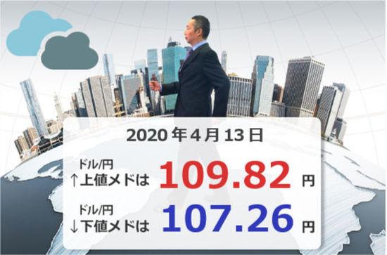 今週のドル/円は、円高それとも円安?ドル/円の上下のメドをチェック