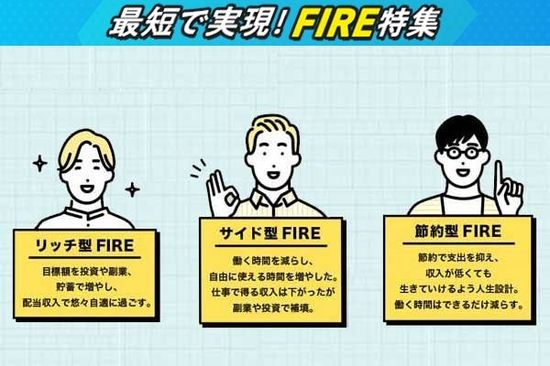 「トウシル版・FIRE」3タイプを解説!