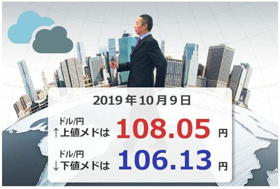 合意なき離脱か⁈ ポンド/円、来月利下げか?! 豪ドル/円、今週の上下のメドは?