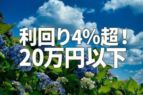 利回り4%超!アナリスト注目の「20万円以下」で買える高配当利回り株