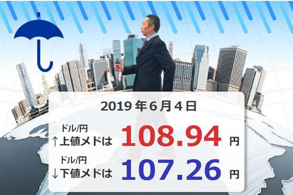 ドル/円は、NY市場で107円台突入!クロス円下落も注意! 豪ドル/円、ポンド/円、リラ/円の今週の高値と安値のメドは?