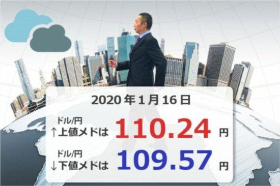 2020年のユーロ/円を予想する!下のメドは「110.10円」、上のメドは「133.40円」