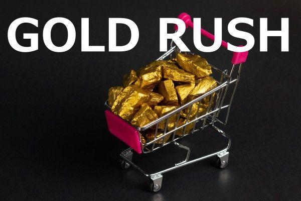 世界の低金利シフト、リスクオフで金価格急上昇!流れに乗れる投資先は?
